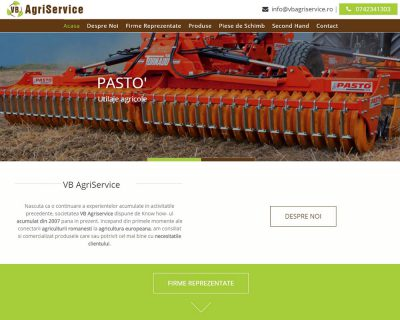 VB Agriservice - Sito Web Aziendale