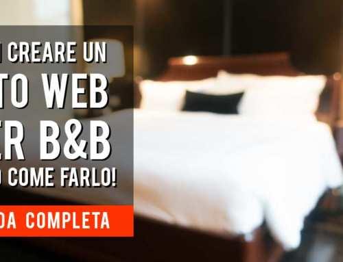 Vuoi aprire un B&B? Ecco cosa serve per creare un sito di un Bed and Breakfast