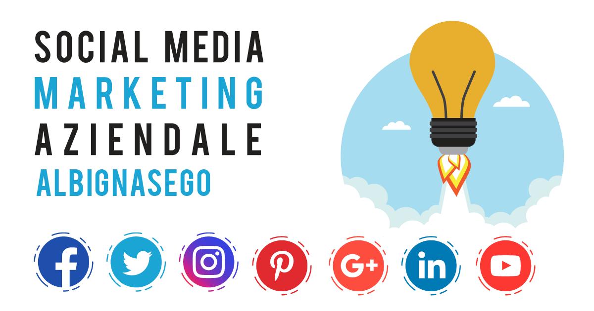 Gestione Social Media Marketing Aziendale a Albignasego